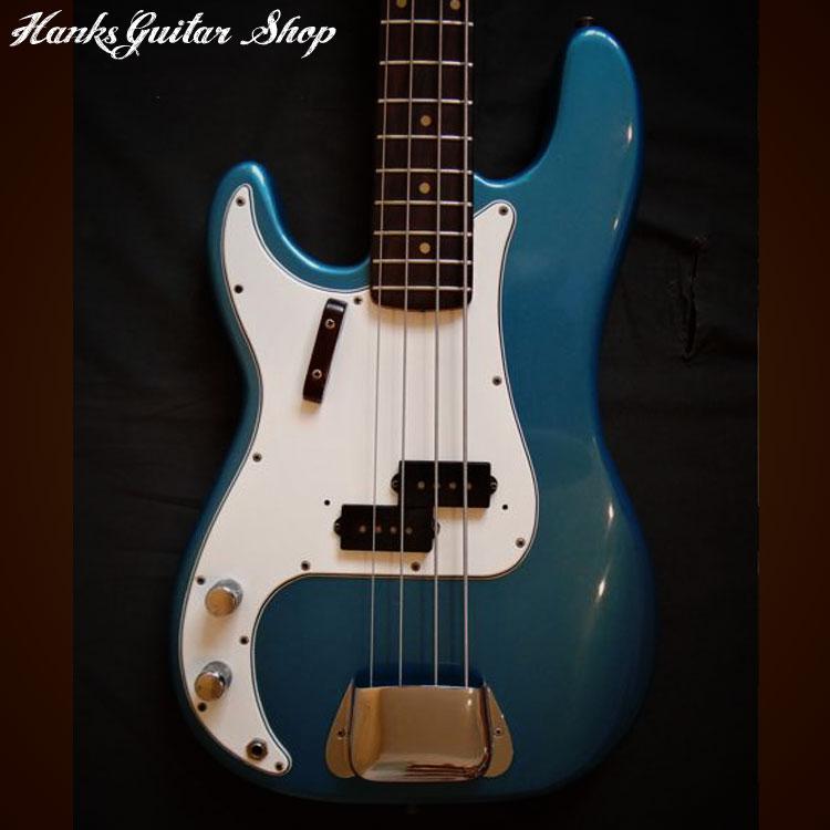 1963 fender precision bass left handed lake placid blue. Black Bedroom Furniture Sets. Home Design Ideas